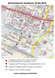 Aktionskarte Sinsheim