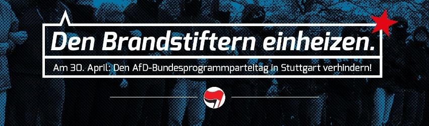 Am 30. April nach Stuttgart der AfD einheizen