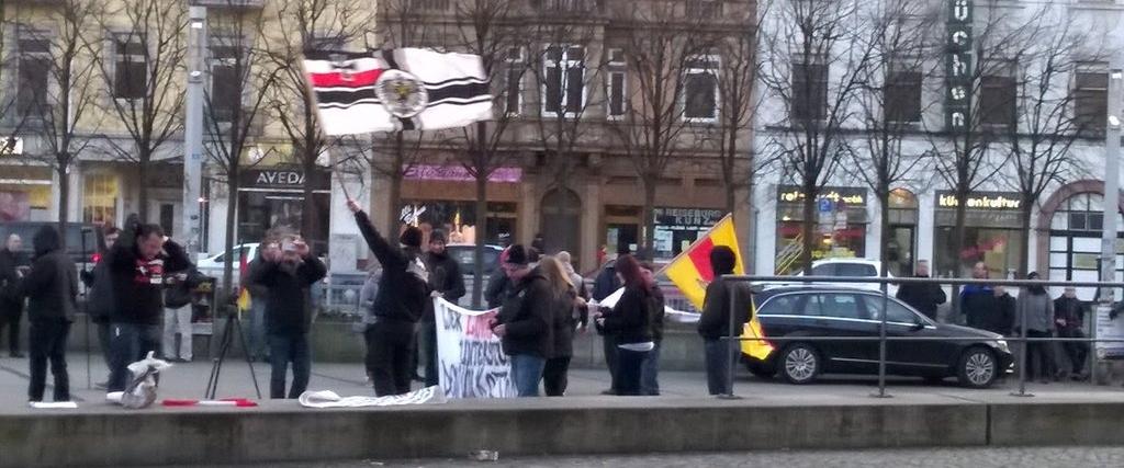 Am 8. April nach Karlsruhe den Nazis die Straße nehmen