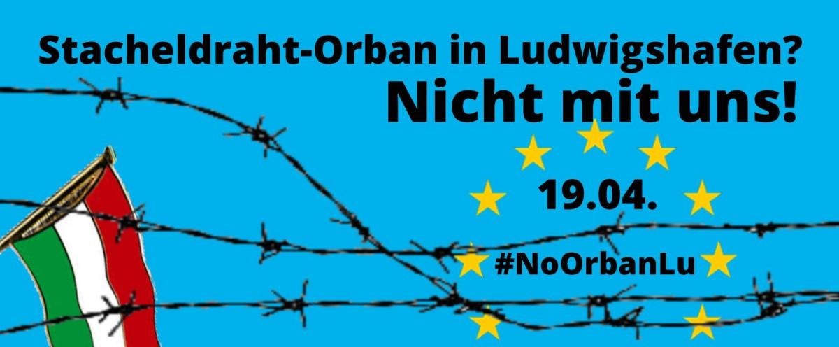 Am 19. April Stacheldraht-Orban den Besuch bei Altkanzler Kohl vermiesen