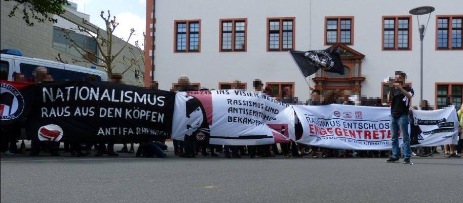 [Bingen] Proteste gegen AFD-Landesparteitag am 9./10. Juli