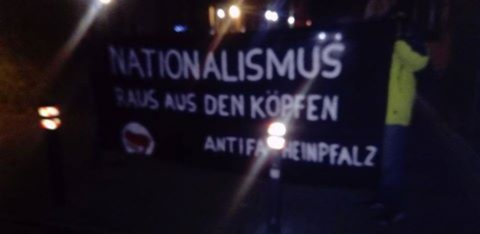 [Mannheim] Antifa verhindert Bürgersprechstunde der AfD