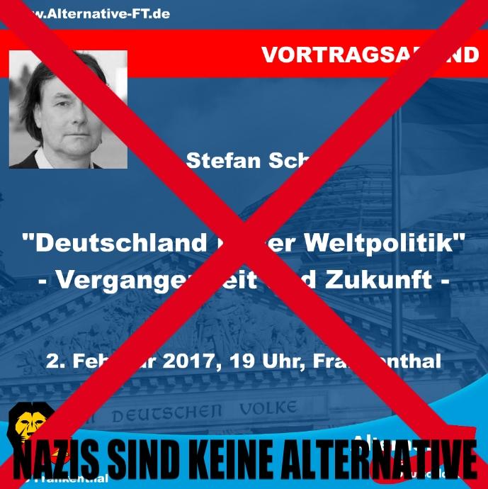 Neurechte im Gewand des Wissenschaftlers – AfD-Veranstaltung mit Stefan Scheil in Frankenthal