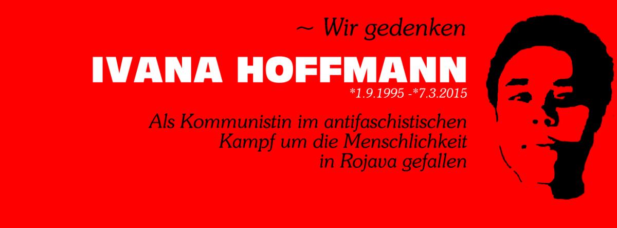 In Gedenken an Ivana Hoffmann
