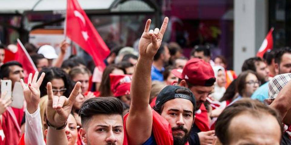 Demo türkischer Nationalisten am Sonntag in Mannheim