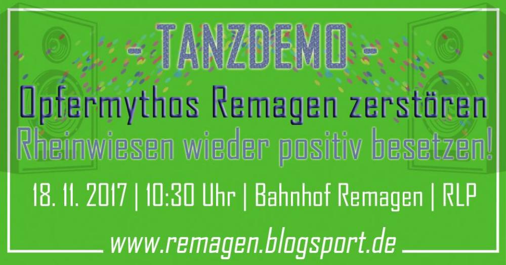Am Samstag, 18.11. auf nach Remagen die NS-Verherrlichung stoppen