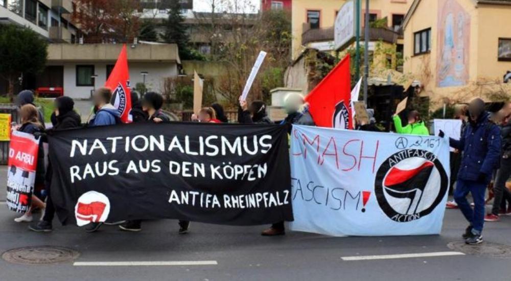 Antifaschistische Proteste begleiteten den AfD-Landesparteitag in Bingen