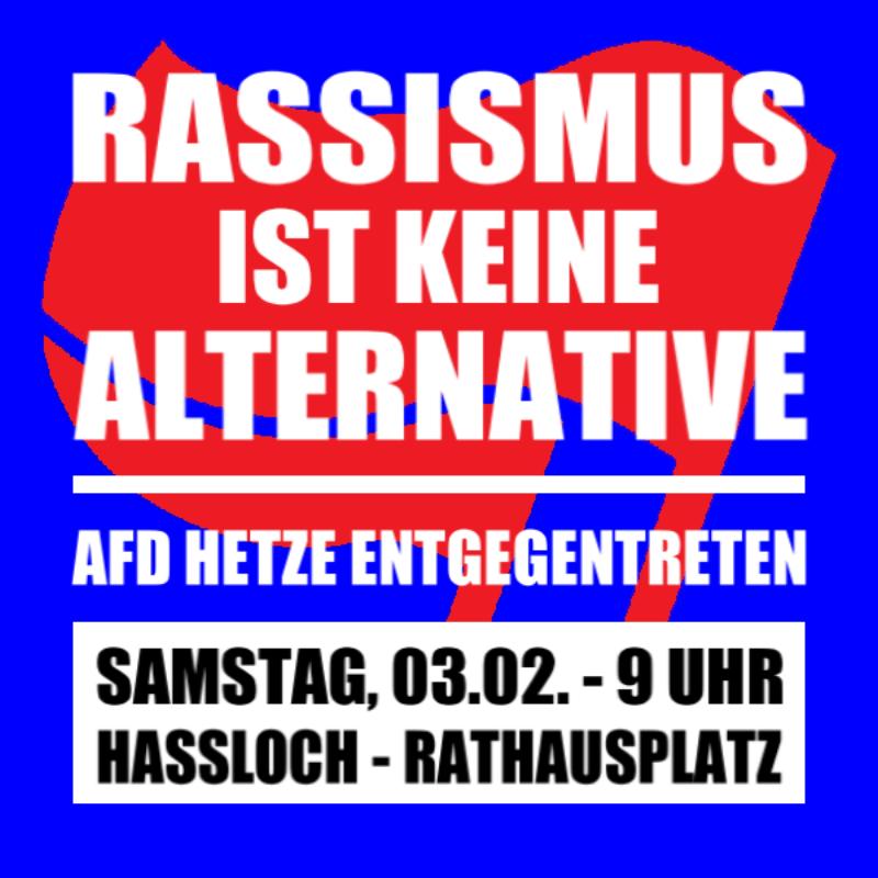 In Haßloch will am Samstag die AfD erneut gegen Geflüchtete hetzen