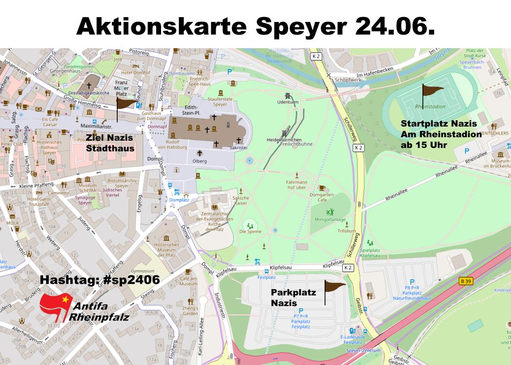 Wutbürger und Nazis am Sonntag, 24.06. in Speyer