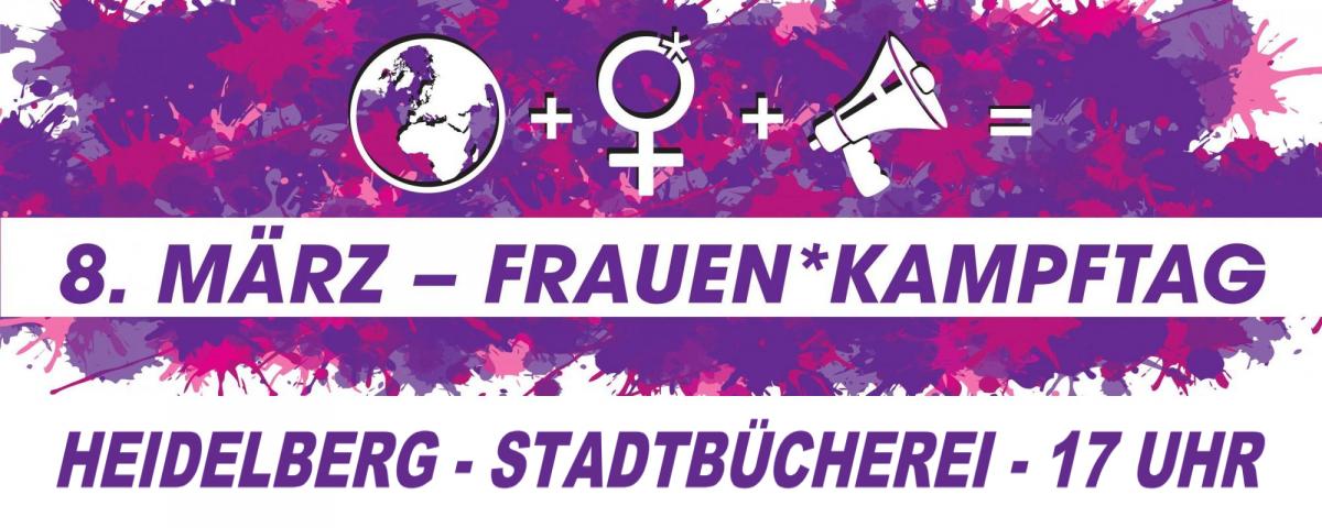 Frauenkampf-Demo am 8. März in Heidelberg